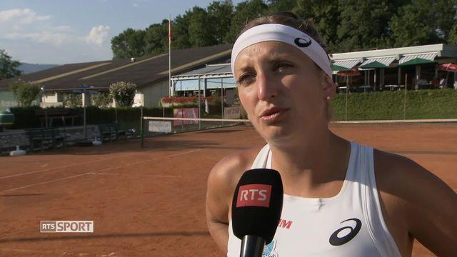 Tennis: Bacsinszky [RTS]