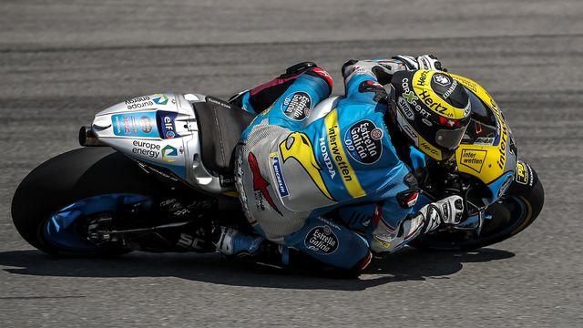 Thomas Lüthi a terminé à la 16e place sur le circuit de Brno. [Martin Divisek - Keystone]