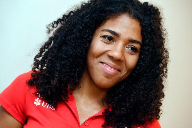 Mujinga Kambundji représente un grand espoir de médaille pour la Suisse. [Walter Bieri - Keystone]