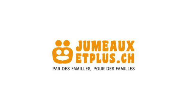 Le logo de Jumeauxetplus.ch. [Jumeaux et plus - Jumeauxetplus.ch]