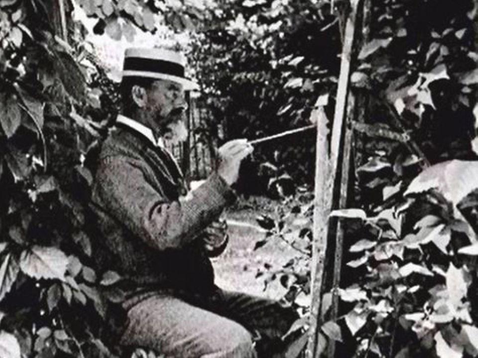 Le peintre suisse Ferdinand Hodler. [RTS]