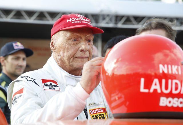 Niki Lauda semble être sur la bonne voie. [Erwin Scheriau - Keystone]