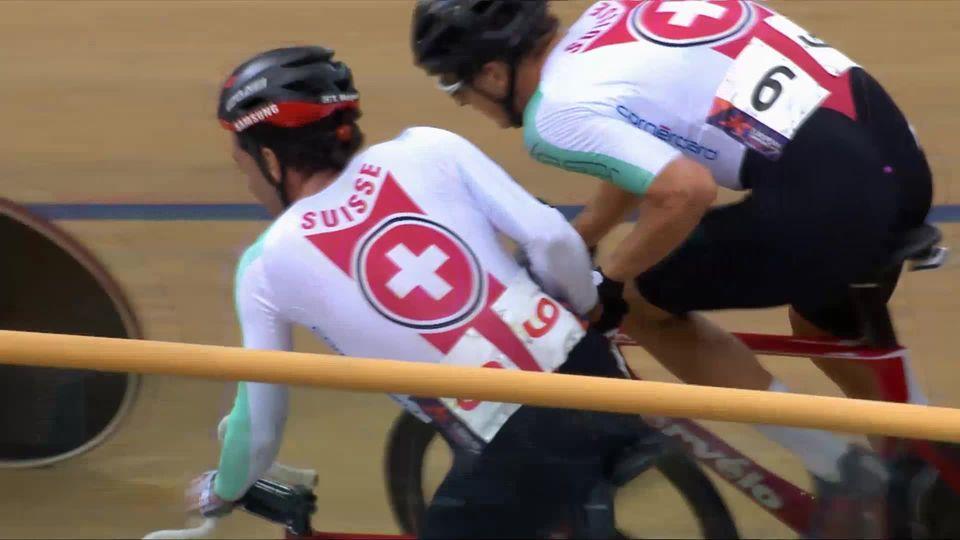 Cyclisme piste, Madison messieurs: pas de finale pour la paire Schir-Marguet [RTS]