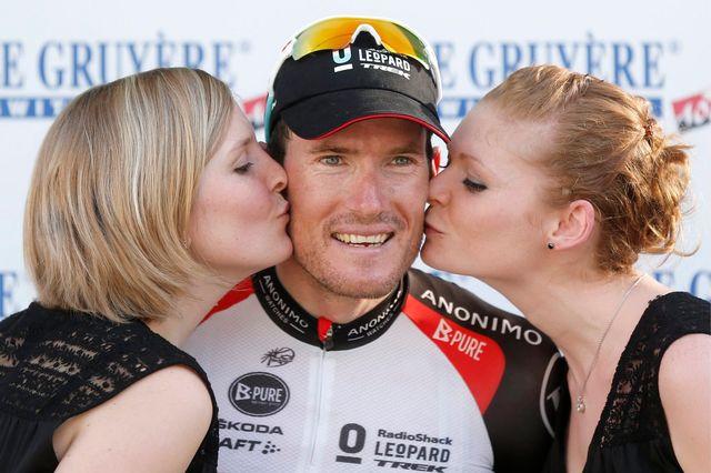 Gregory Rast gardera un excellent souvenir de sa victoire sur le Tour de Suisse en 2013. [Peter Klaunzer - Keystone]