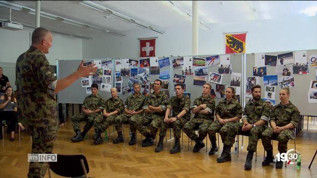 Armée suisse: Dix jeunes athlètes ont intégré le 1er août le programme pour sportifs d'élite de l'armée suisse [RTS]