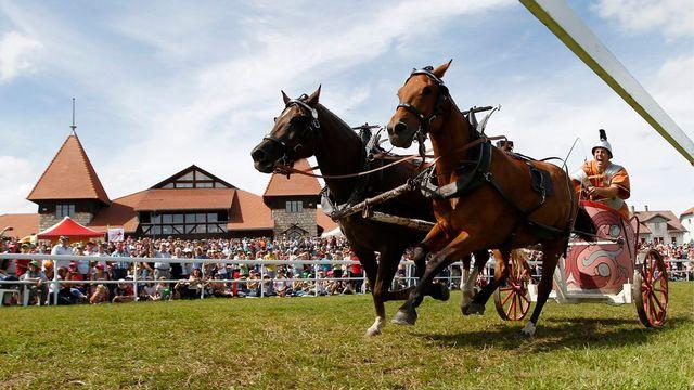 Le Marché-Concours de Saignelégier (ici, en 2011). [Peter Klaunzer - Keystone]