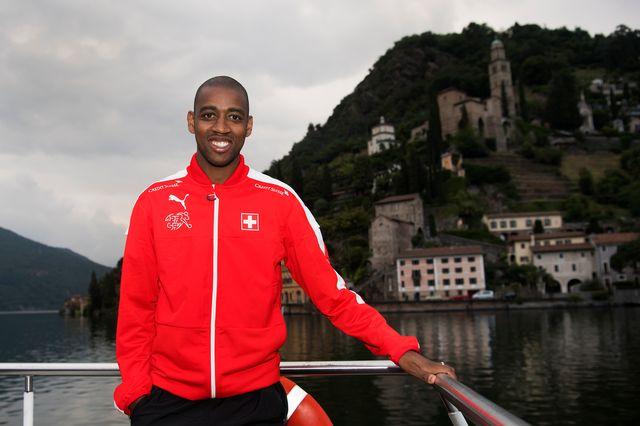 Gelson Fernandes compte 67 sélections avec l'équipe de Suisse. [Jean-Christophe Bott - Keystone]
