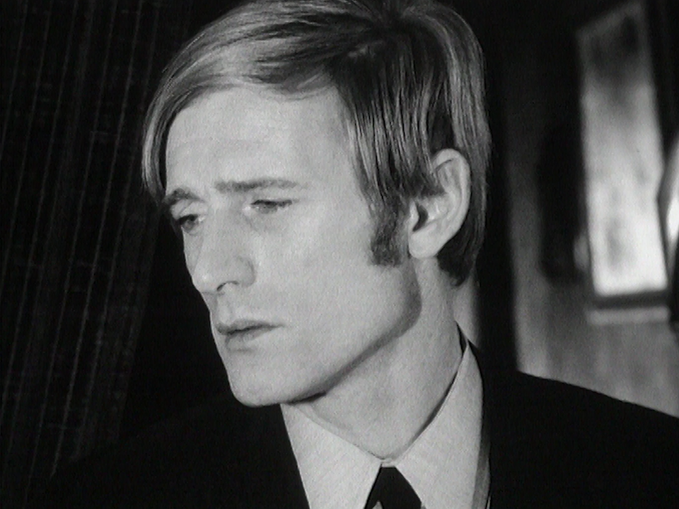 Le chanteur Nino Ferrer, 1965. [RTS]