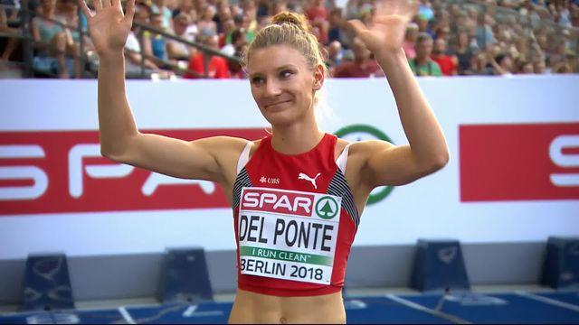 Athlétisme, 100m dames: 5e place et pas de finale pour Ajla Del Ponte [RTS]