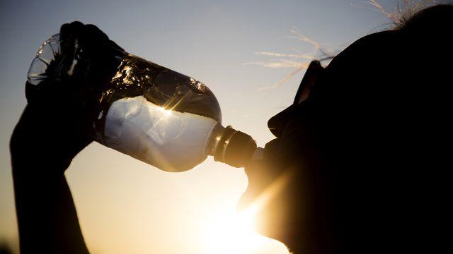 Il faut s'hydrater régulièrement par temps de fortes chaleurs. [ink drop - Fotolia]