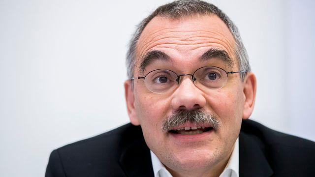Le conseiller d'Etat socialiste fribourgeois Jean-François Steiert. [Christian Merz - Keystone]