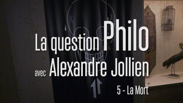 La question philo avec Alexandre Jollien - La mort. [Stella Lux Productions - RTS Découverte]
