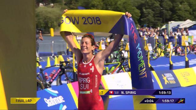 Triathlon dames: Spirig (SUI) remporte le titre européen pour la 6e fois ! [RTS]