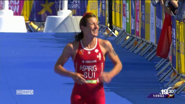 Triathlon: Nicola Spirig est championne d'Europe pour la 6e fois [RTS]