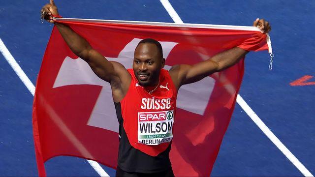 Athlétisme, 200m messieurs: médaille de bronze pour Alex Wilson (SUI)! [RTS]