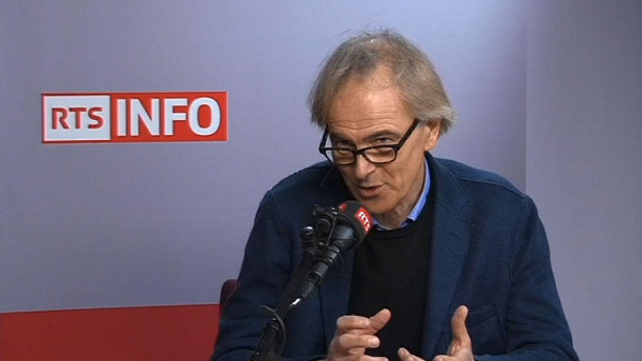 Le professeur Ola Söderström (Unine). [RTS]
