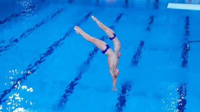 Plongeon, 3m messieurs: Kuznetsov-Zakharov (RUS) remportent l'or européen [RTS]