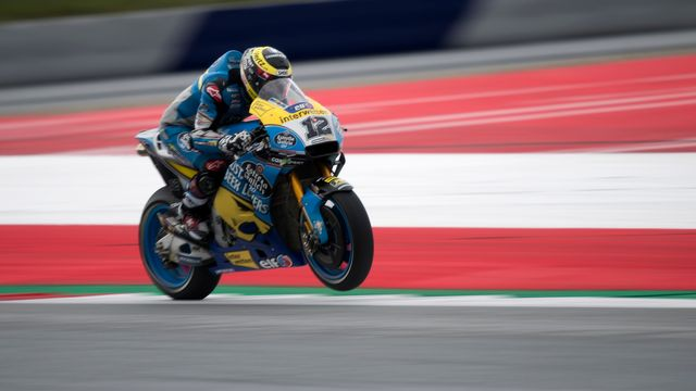 Thomas Lüthi n'y arrive toujours pas en MotoGP. [Andreas Schaad - Keystone]