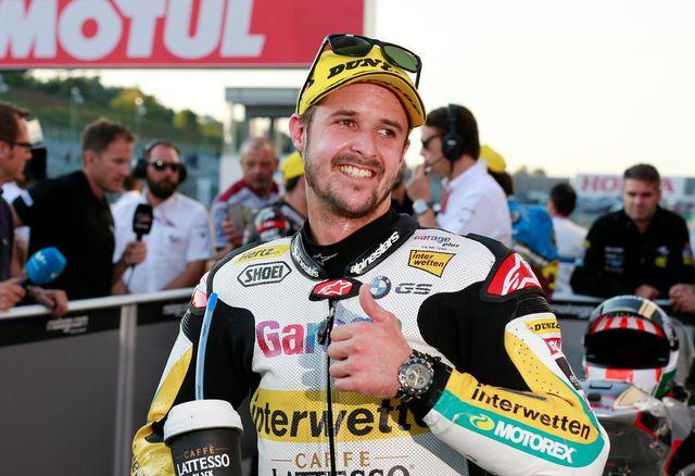 Thomas Lüthi n'a toujours pas inscrit de point en MotoGP. [Shizuo Kambayashi - Keystone]
