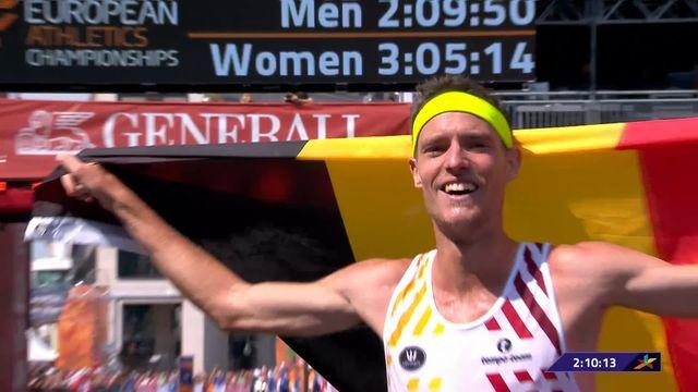 Athlétisme, marathon messieurs: Naert (BEL) s'impose devant le Suisse Abraham (SUI) [RTS]