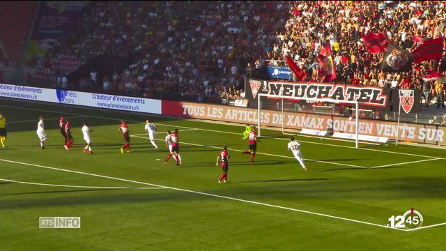 Super league : les footballeurs neuchâtelois encaissent une nouvelle pluie de buts [RTS]