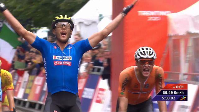 Cyclisme: Matteo Trentin (ITA) remporte l'or, Albasini (SUI) termine 7e [RTS]