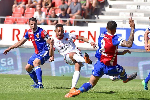 Le Fc Bâle a battu Sion 3-2 en Super League. [Frederic Dubuis - Keystone]