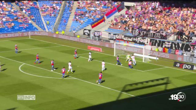 Le FC Bâle s'est imposé 3-2 contre le FC Sion en 4e journée de championnat Super League [RTS]