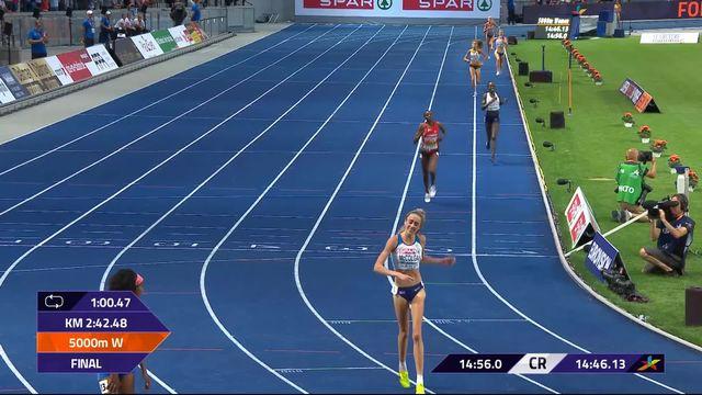 Athlétisme, 5000m dames: victoire de Sifan Hassan (NED) [RTS]