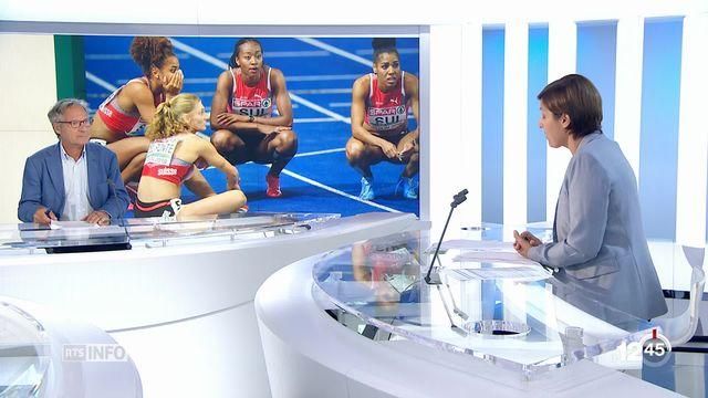 Athlétisme - championnat d'Europe: résumé des succès et déceptions suisses [RTS]