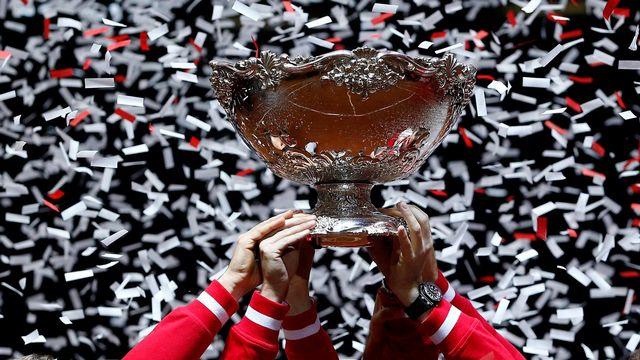 La réforme de la Coupe Davis divise dans le milieu du tennis. [Yoan Valat - EPA/Keystone]