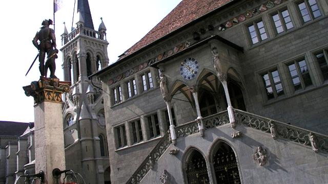 Le siège du gouvernement cantonal à Berne. [www.be.ch]