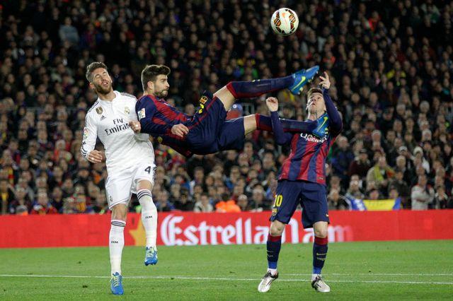 Ramos, Piqué ou Messi pourraient évoluer aux Etats-Unis cette saison encore. [Emilio Morenatti - Keystone]