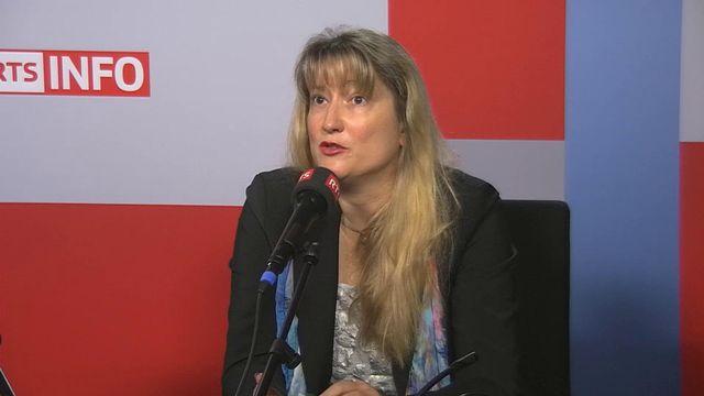 La commandante de la police genevoise Monica Bonfanti. [RTS]