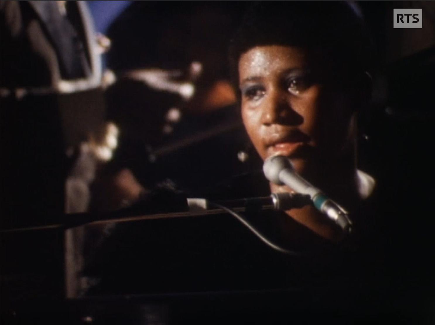 Aretha Franklin à Montreux