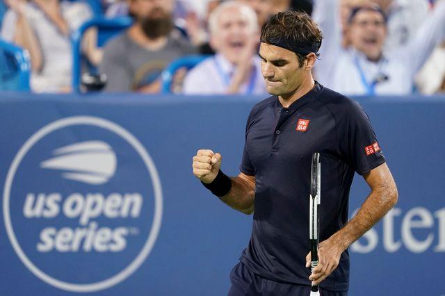 Federer a fait la différence dans le troisième set. [John Minchillo - Keystone]