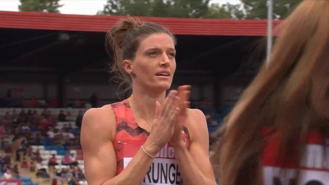 Birmingham (GBR), 400m haies dames : Lea Sprunger (SUI) la plus rapide [RTS]