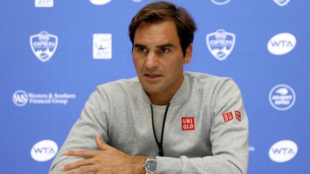 """Federer déplore """"des failles"""" dans la nouvelle formule. [Matthew Stockman - AFP]"""