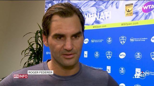 Roger Federer : une nouvelle finale à Cincinatti [RTS]