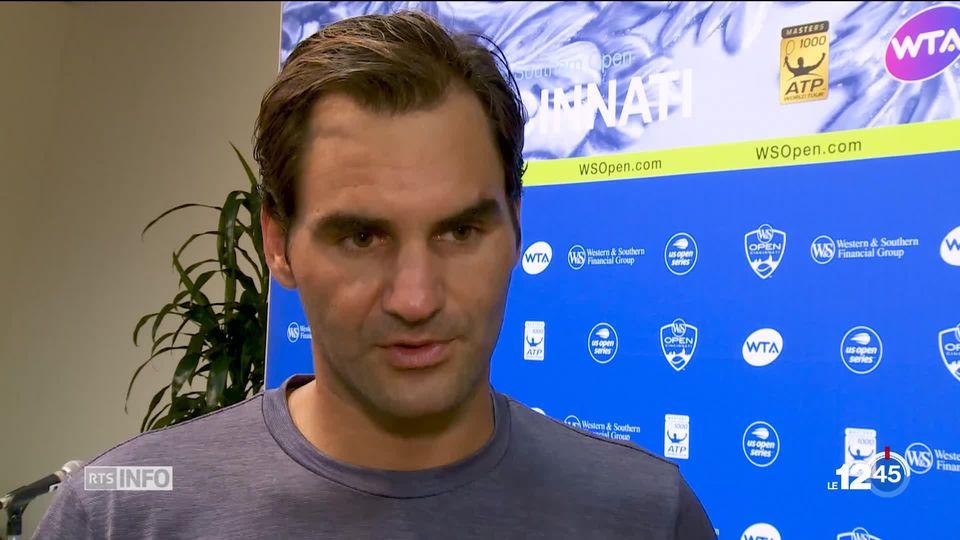 Interview de Federer avant la finale contre Djokovic [RTS]