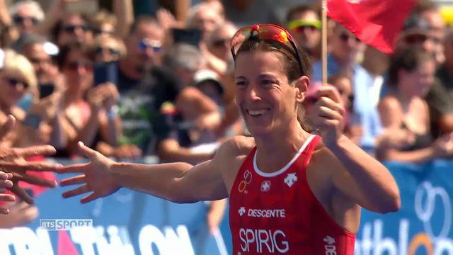 Triathlon: la 10e étape de la Coupe du Monde [RTS]