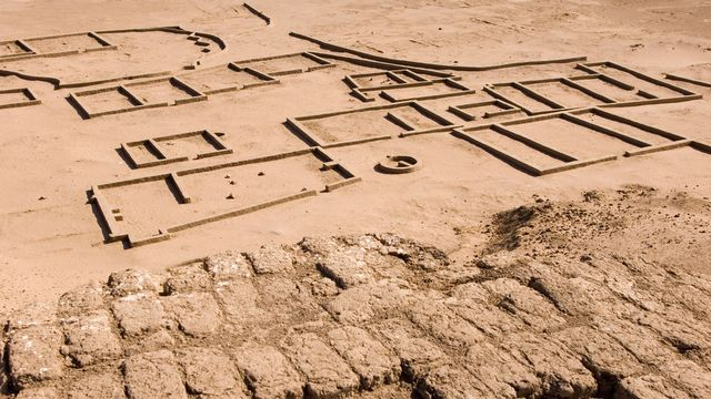 Le site de l'ancienne cité de Kerma, au Soudan. [Jean-Pierre De Mann - Jean-Pierre De Mann/AFP]
