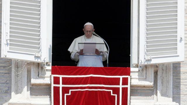 Le pape François photographié au Vatican le 19 août 2018. [Gregorio Borgia - AP/Keystone]