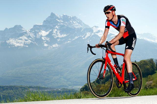 Frankiny avait remporté une étape de la Vuelta en 2017. [Valentin Flauraud - Keystone]