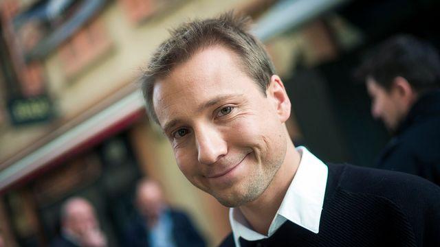 Philippe Nantermod, vice-président du PLR. [Olivier Maire - Keystone]