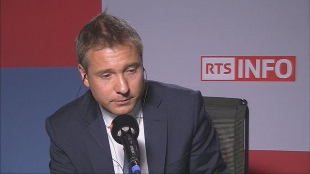L'invité-e de Romain Clivaz (vidéo) - Philippe Nantermod, vice-président du PLR [RTS]