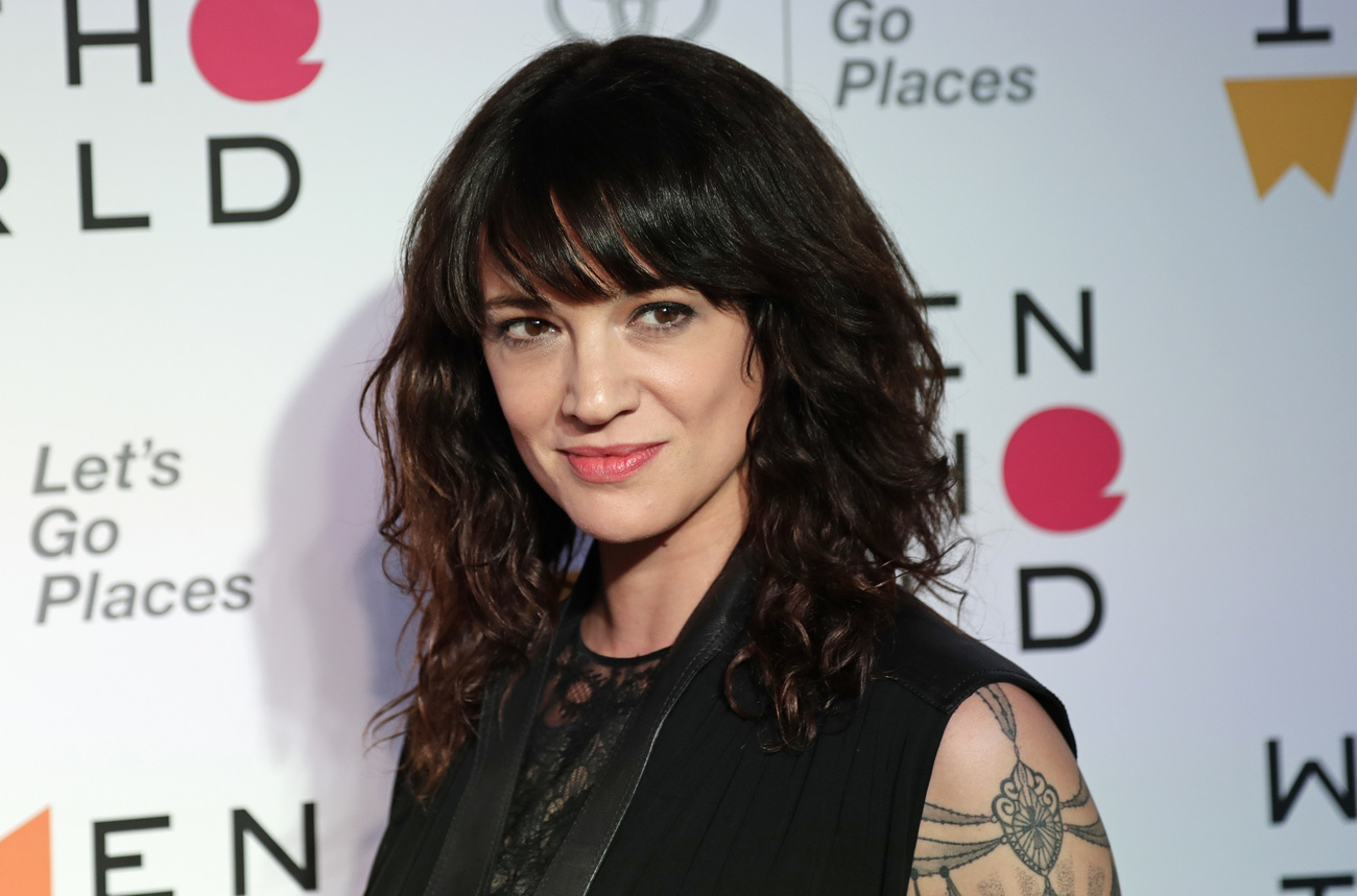 L'actrice Asia Argento le 12 avril 2018.