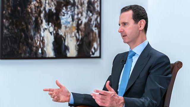Washington, Paris et Londres mettent le président syrien Bachar al-Assad sous pression en l'avertissant qu'ils réagiront si des armes chimiques sont utilisées dans la province d'Idlib qu'il a promis de reprendre. [ SANA/Handout via REUTERS - Reuters]