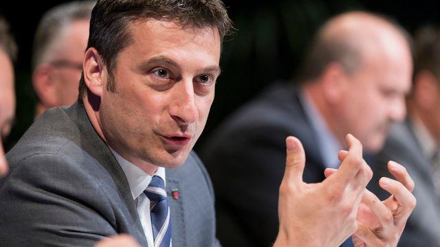 Le ministre jurassien en charge de l'économie et de la santé Jacques Gerber. [Cyril Zingaro - Keystone]