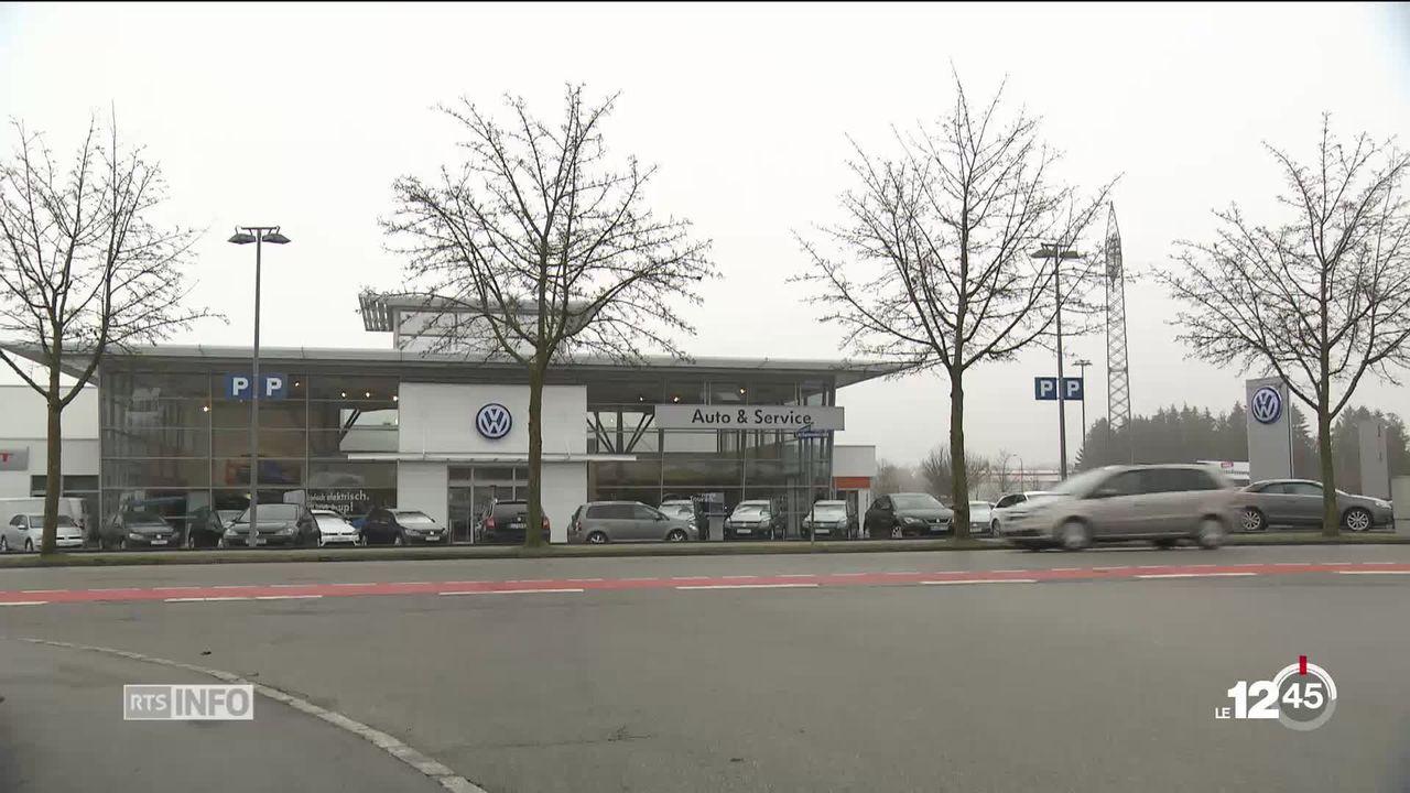 Moteurs VW truqués: les clients alémaniques perdent une bataille [RTS]